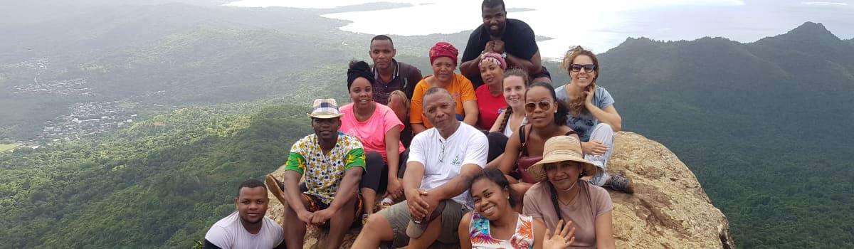 Partage d'expériences dans la zone Océan Indien - 20 intervenants qui ont participé à la Communauté de Pratiques et de Savoirs (CPS) à Mayotte